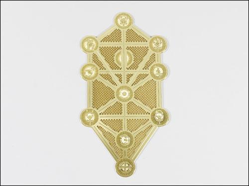 Crystal Mind エナジーカード セフィロトの樹 創造