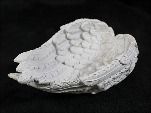 Angelium 天使の羽皿 大