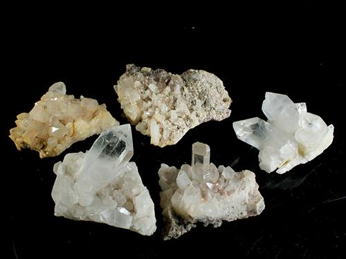 原石 マニカラン産水晶 クラスターポイント 大 アソート