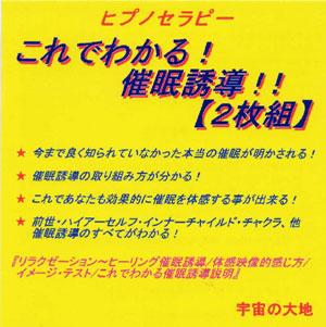 ヒプノセラピー これでわかる!催眠誘導!!【2枚組】 / 鈴木光彰(解説)