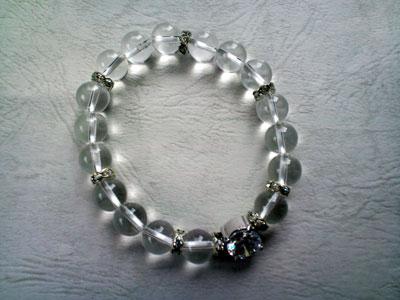 デザイン・ブレスレット Diamantina  クリスタル 10mm