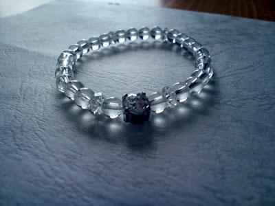 限定品 デザイン・ブレスレット Diamantina クリスタルType2 6mm