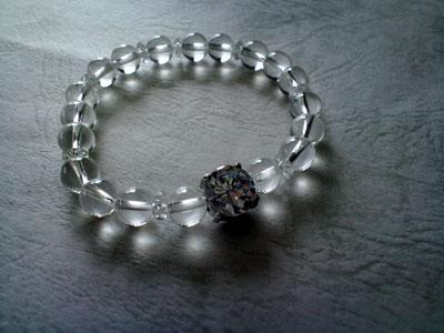 限定品 デザイン・ブレスレット Diamantina クリスタルType2 8mm