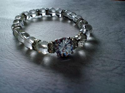 デザイン・ブレスレット Diamantina クリスタル 8mm