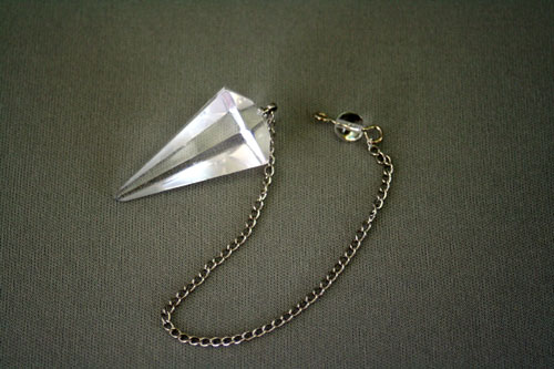 ペンデュラム カット 水晶