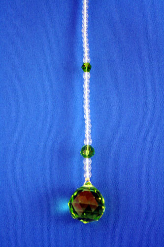 サンキャッチャー 2cm玉 グリーン