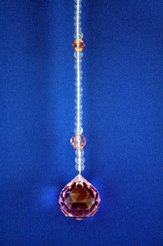 サンキャッチャー 2cm玉 ピンク