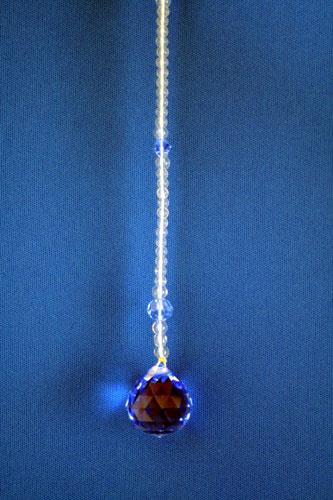 サンキャッチャー 2cm玉 ブルー
