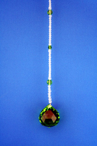 サンキャッチャー 3cm玉 グリーン