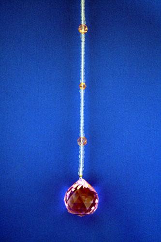 サンキャッチャー 3cm玉 ピンク