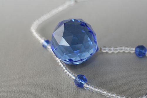サンキャッチャー 3cm玉 ブルー
