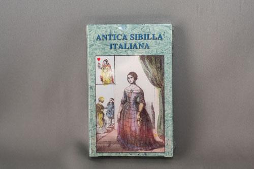古代イタリア 占い師のカード ANTICA SIBILA ITALIANA