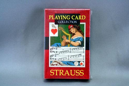 トランプ PLAYING CARDS シュトラウス STRAUSS