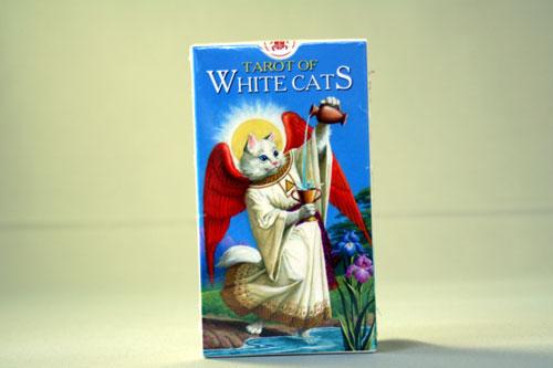 ホワイト・キャッツ・タロットカード TAROT OF WHITE CATS