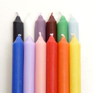 初回限定 ミニリチュアルキャンドル全12色+ミニフロステッドグラスキューブ「フェアリー」セット