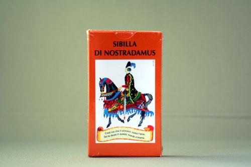 ノストラダムス・カード SIBILLA DI NOSTRADAMUS